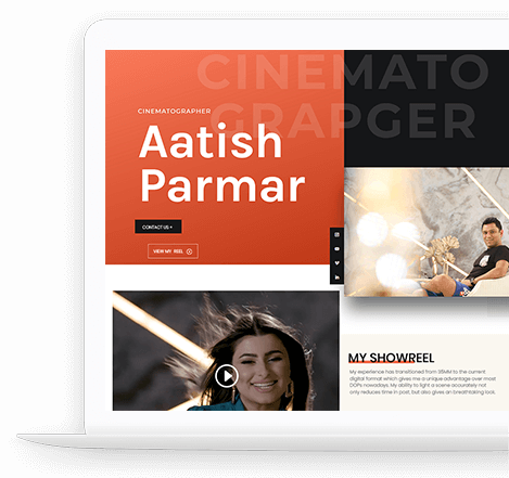 Aatish Parmar Website Portfolio - Cinematographer (Spawn Point Dev)